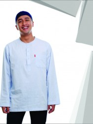 BAJU KOKO URBAN TARKANI LIGHT BLUE