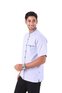 BAJU KOKO URBAN CALID LIGHT BLUE 1