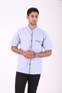 BAJU KOKO URBAN CALID LIGHT BLUE 3