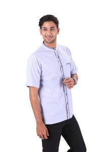 BAJU KOKO URBAN CALID LIGHT BLUE 2